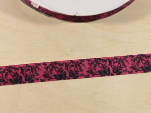 Лента репсовая с рисунком, ширина 22 мм, длина 10 м, Арт. ЛР5830