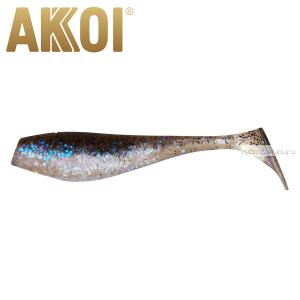 Мягкая приманка Akkoi Original Puffy 4,5'' 115 мм / 11 гр / упаковка 4 шт / цвет: OR05