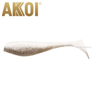 Мягкая приманка Akkoi Original Puffy 4,5'' 115 мм / 11 гр / упаковка 4 шт / цвет: OR07