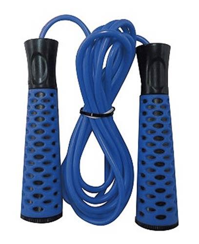 Скакалка INDIGO 97123 2.75м резиновая, пластиковые ручки