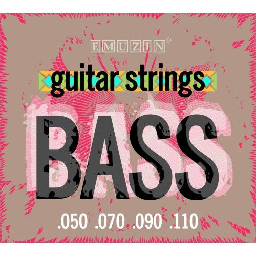 EMUZIN 4S50-110 (050-110) Струны для бас-гитары (4 стр.)