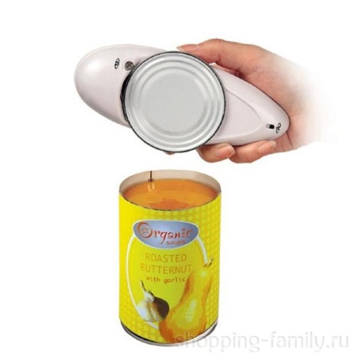 Электрическая открывалка One Touch Can Opener