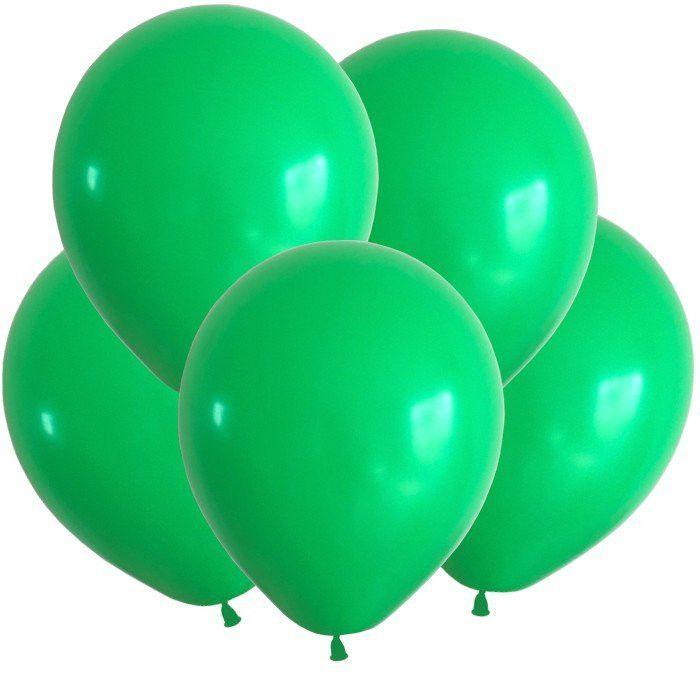 """Шарики пастель зеленые 12"""""""