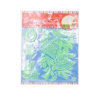 Набор светящихся новогодних наклеек Merry Christmas, 30х40 см, Праздничный Колокольчик (2)