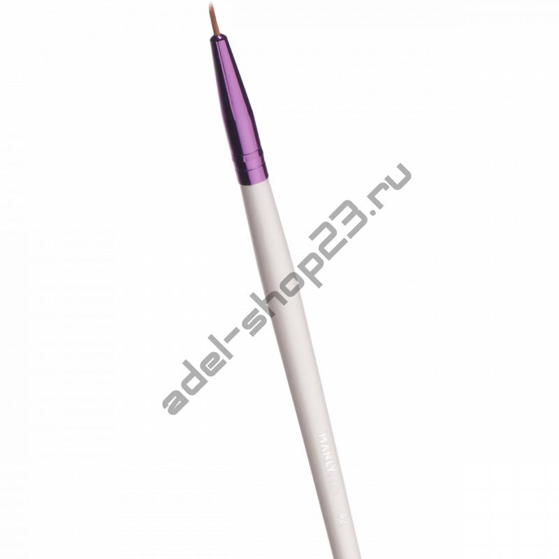 Manly PRO - Тонкая кисть для гелевой и жидкой подводки К42