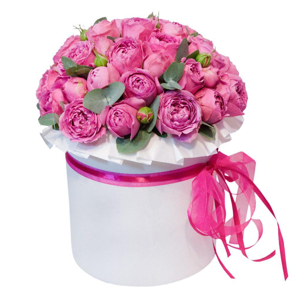 """Букет из пионовидных роз """"Барбара"""""""