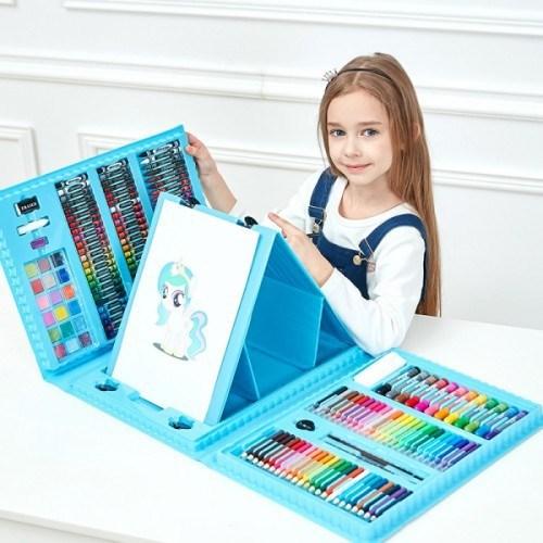 """Большой набор для рисования """"Юный художник"""" 176 предметов"""