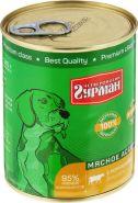 Четвероногий гурман Мясное ассорти для собак с потрошками (340 г)
