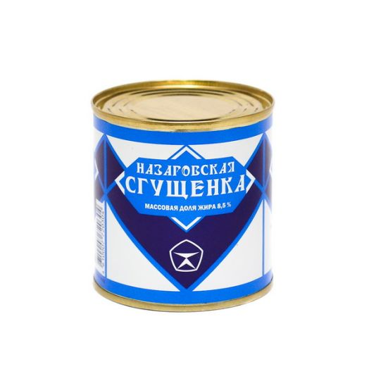 Продукт молокосодержащий с ЗМЖ сгущенный с сахаром 8,5% ж/б СТО 360г Назарово