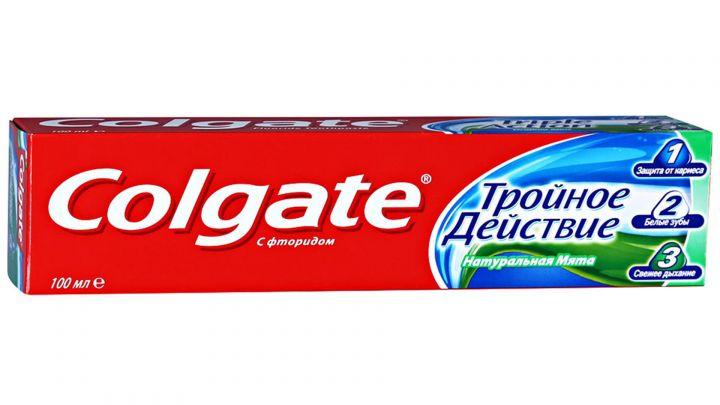 Зуб. паста Colgate 100мл Тройное действие