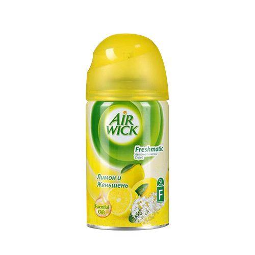 Освежитель воздуха AIRWICK 250мл Лимон/Женьшень см/бл фн