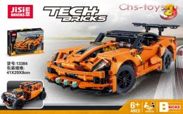 Конструктор JISI BRICKS Chevrolet Corvette ZR1 13384 ( Аналог LEGO Technic 42093) 593 дет