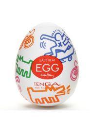 Одноразовый мастурбатор Tenga Egg Street, Keith Haring Edition