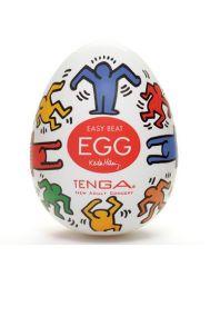 Одноразовый карманный мастурбатор Tenga Egg Dance, Keith Haring Edition