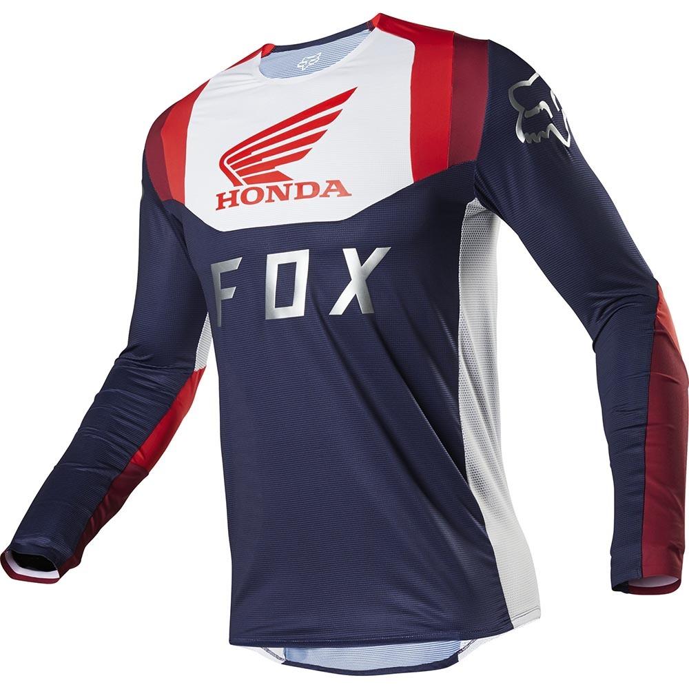 Fox - 2020 Flexair Honda Navy/Red джерси, сине-красное