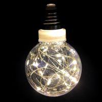 Ретро-лампа со светодиодной нитью, 8 см 1 шт