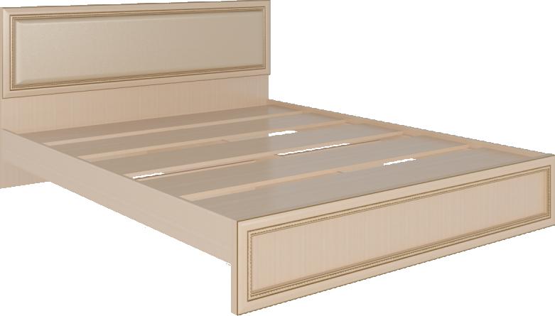 Беатрис мод.9 Кровать с ламелями и мягкой спинкой