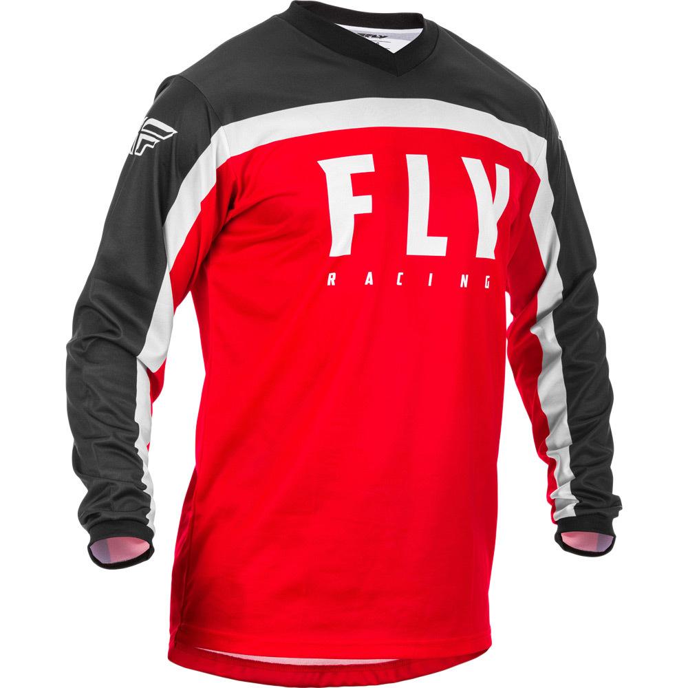 Fly - 2020 F-16 Red/Black/White джерси, красно-черно-белое