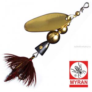 Блесна вертушка Myran Mira 2гр / цвет: Guld 6470-02