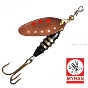 Блесна вертушка Myran Toni-Z 7гр / цвет: Koppar 6421-03