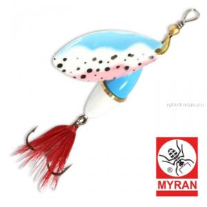 Блесна вертушка Myran Wipp 10 гр / цвет: Trout 6843-251
