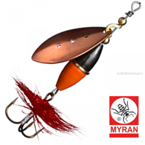 Блесна вертушка Myran Wipp Orange Svart 5гр / цвет: Koppar 6441-03