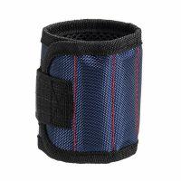 Строительный магнитный браслет Magnetic Wristband 3 магнита, цвет синий (2)
