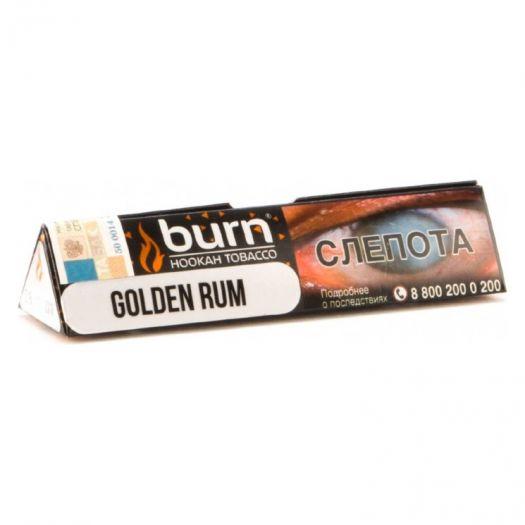 Burn Golden Rum