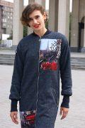 Модное пальто бомбер