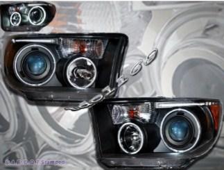 Оптика с ходовым огнем Toyota Tundra Тойота Тундра 2007-2013г. Cеквойя 2007-13г.