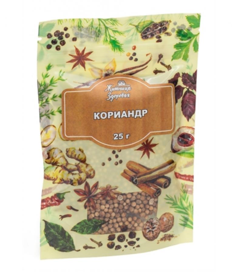 ЖИТНИЦА ЗДОРОВЬЯ Кориандр семена 25 г