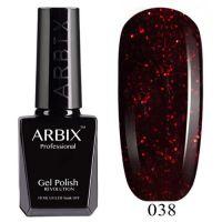 Arbix 038 Куршавель Гель-Лак , 10 мл