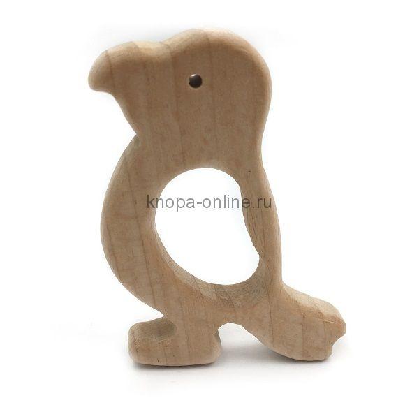 Деревянный грызунок - Попугайчик