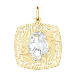 Подвеска «Знак зодиака Козерог» 031643 SOKOLOV