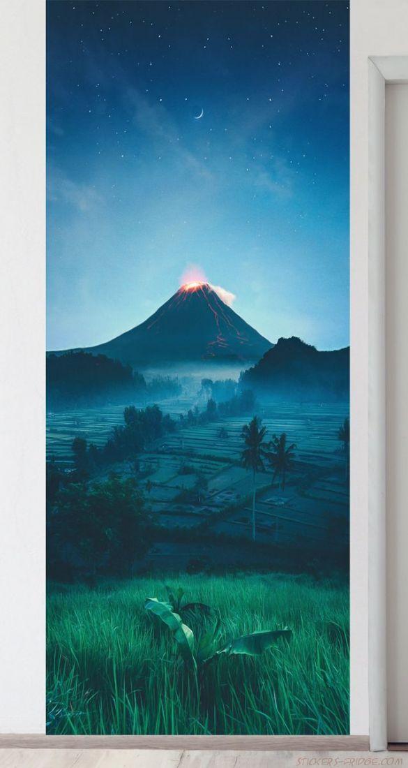 Панно на стену - Подножие вулкана