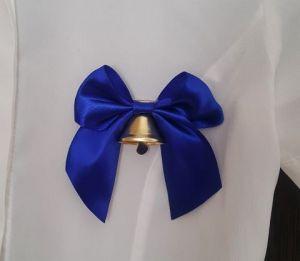 Колокольчик бант-Большой Синий с булавкой