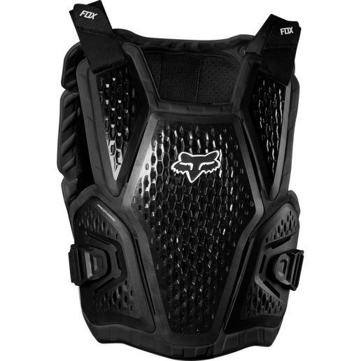 Fox Raceframe Impact Black жилет защитный, черный