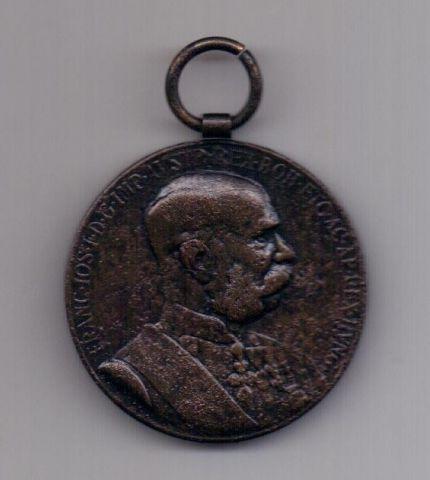 медаль 1898 года Австрия Венгрия