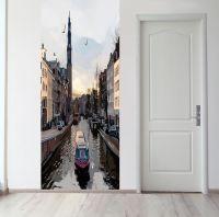 Панно на стену - Прогулки по Амстел магазин Интерьерные наклейки