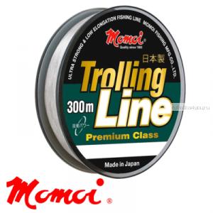 Леска монофильная Momoi Trolling Line 300 м / цвет: прозрачный