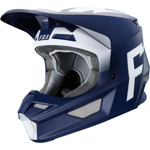 Fox V1 Werd Navy шлем, синий