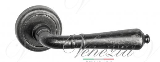Дверная ручка Venezia VIGNOLE D1 античное серебро