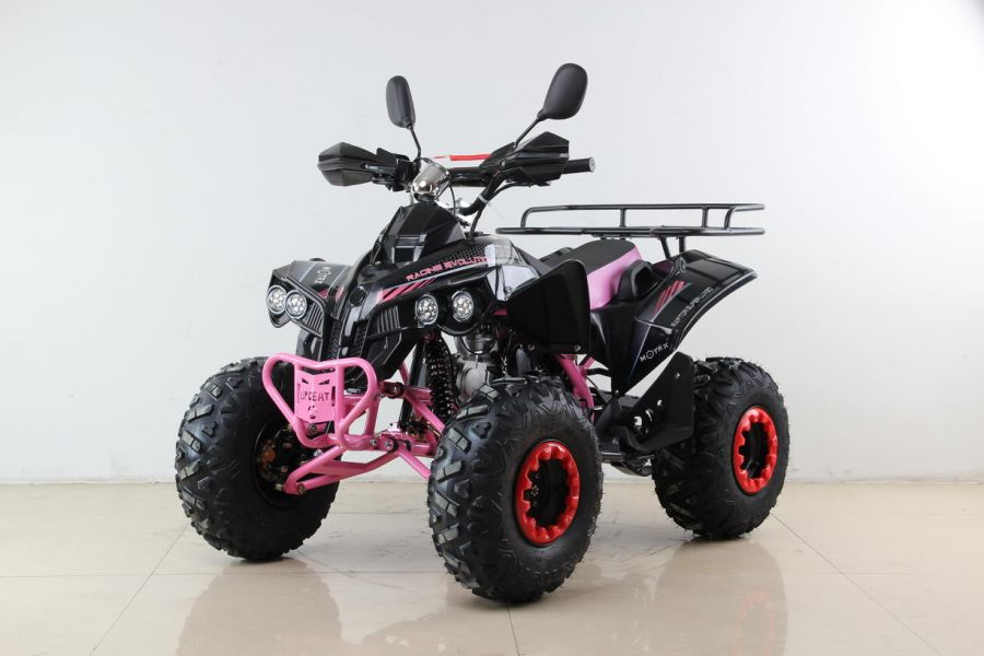 Детский квадроцикл бензиновый Motax ATV Raptor Super Lux 125 cc
