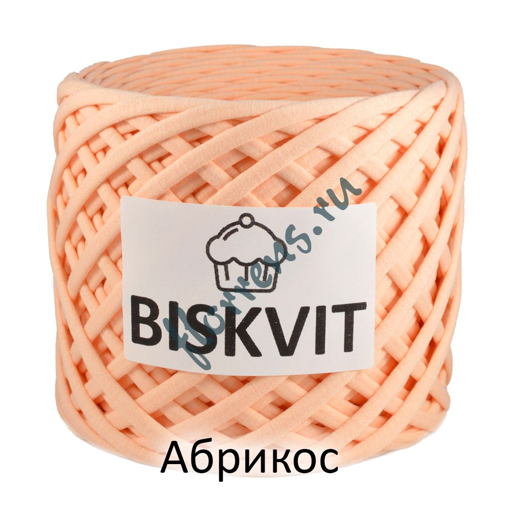 Трикотажная пряжа Biskvit / Абрикос
