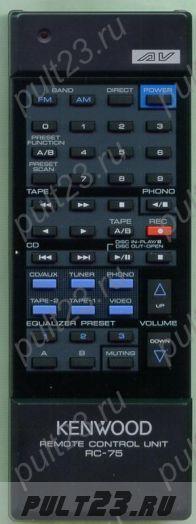 KENWOOD RC-75, A70-0145-05, KR-V75R, KR-V95R, KR-V125R