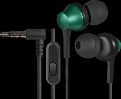 Гарнитура для смартфонов Pulse 470 черный+зеленый, вставки