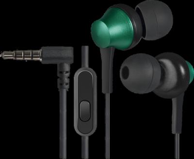 Акция!!! Гарнитура для смартфонов Pulse 470 черный+зеленый, вставки