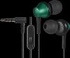 Распродажа!!! Гарнитура для смартфонов Pulse 470 черный+зеленый, вставки