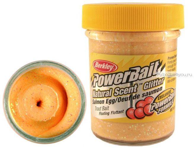 Паста форелевая Berkley Salmon Peach ( Икра, персик )
