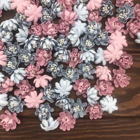 Цветок Бумажный 2 см